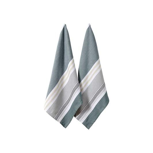 Ladelle Jasper Repose Gum Leaf Kitchen Towel Pack Of 2