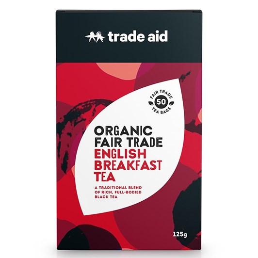 Trade Aid English Breakfast 50 Tea Bags 125g