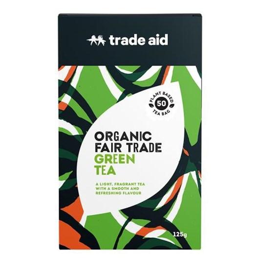 Trade Aid Green Tea 50 Tea Bags 125g