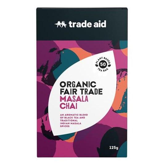 Trade Aid Masala Chai 50 Tea Bags 125g