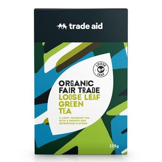 Trade Aid Green Tea Loose Leaf 125g