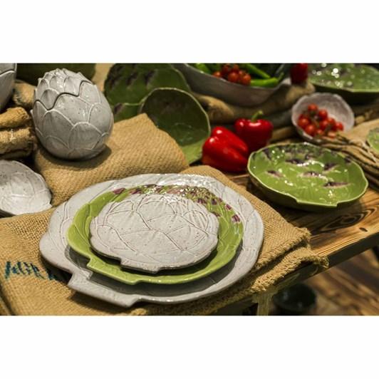 Bordallo Artichoke Naturalist Plate 31.5