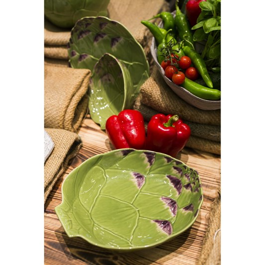 Bordallo Artichoke Naturalist Platter 41