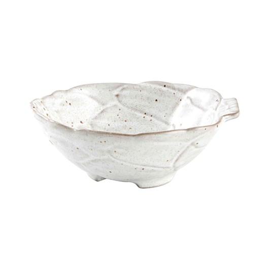Bordallo Artichoke White Bowl 14.5