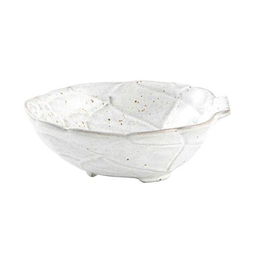Bordallo Artichoke White Bowl 18