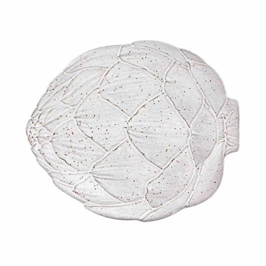 Bordallo Artichoke White Plate 31.5