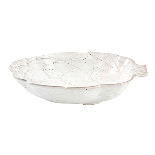 Bordallo Artichoke White Bowl 35.5