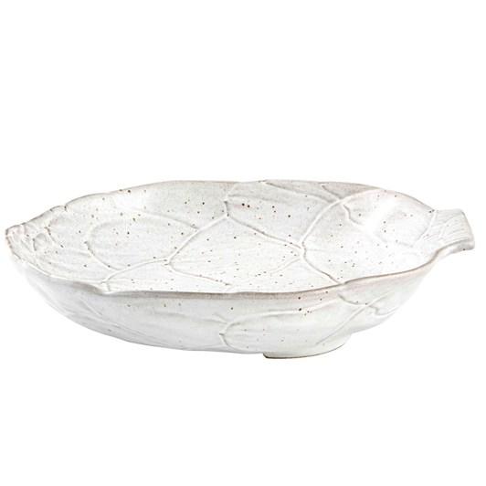 Bordallo Artichoke White Bowl 28