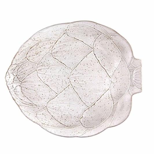 Bordallo Artichoke White Platter 41