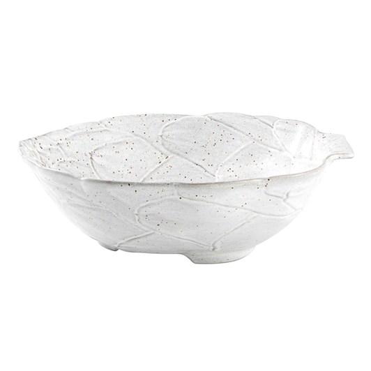Bordallo Artichoke White Bowl 32.5