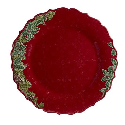 Bordallo Christmas Garland Plate 35.5