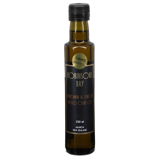 Robinsons Bay Olives Mandarin & Lemon Infused Olive Oil 250ml
