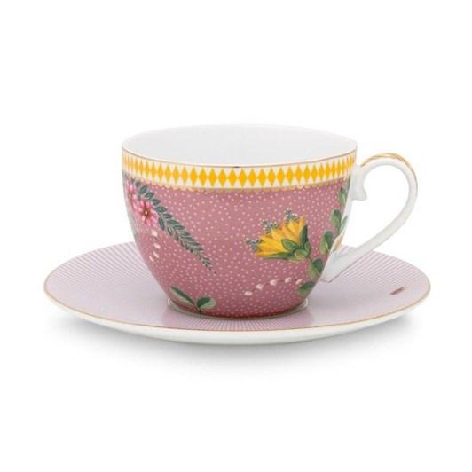 Pip Studio La Majorelle Cup & Saucer Pink 280ml