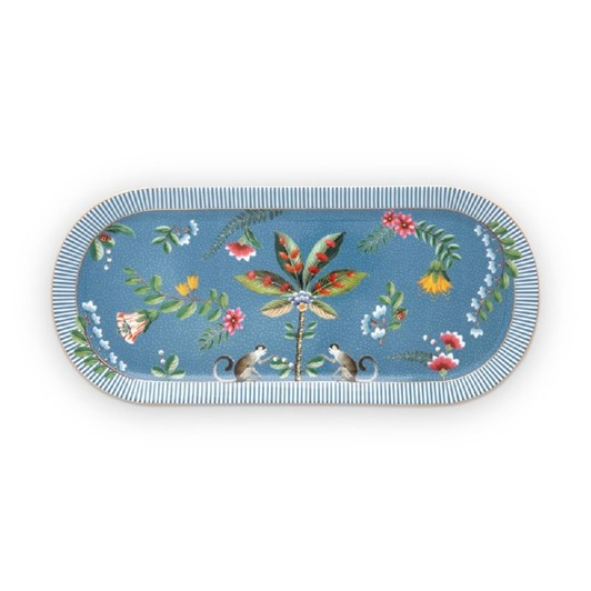 Pip Studio La Majorelle Cake Tray Blue 33.3x15.5cm