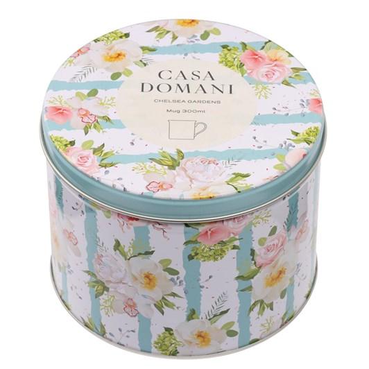 Casa Domani Chelsea Gardens Mug 300Ml Mayflowers Tin Gift Boxed