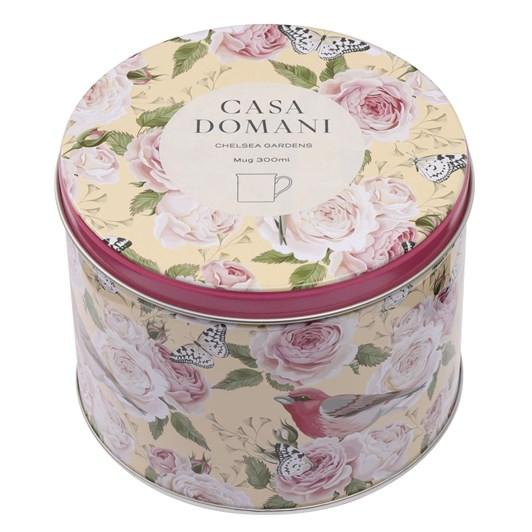 Casa Domani Chelsea Gardens Mug 300Ml Robins Tin Gift Boxed