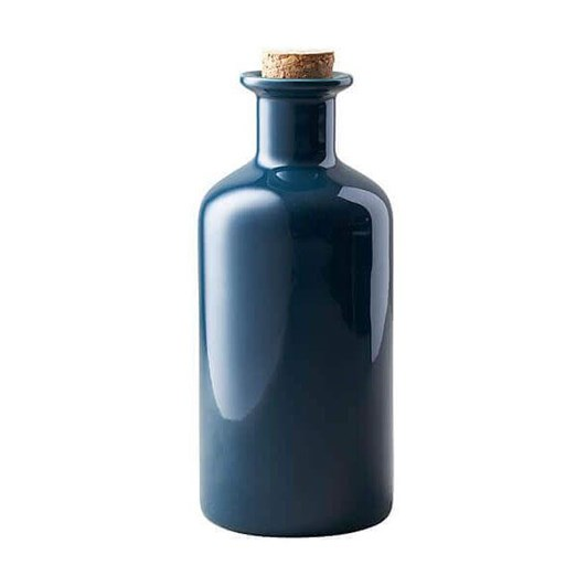 Maxwell & Williams Epicurious Oil Bottle Cork Lid 500Ml Teal Gift Boxed