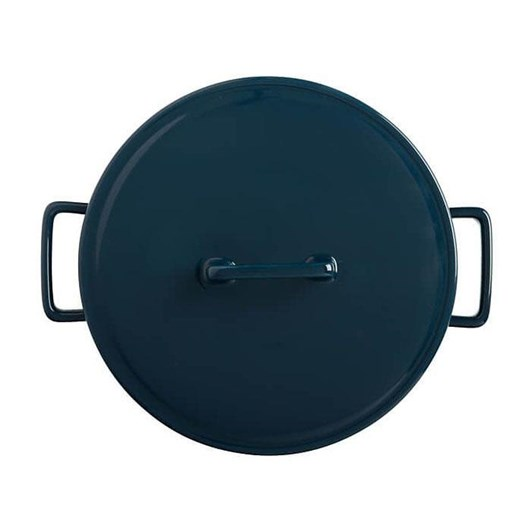 Maxwell & Williams Epicurious Round Casserole 2.6L Teal Gift Boxed