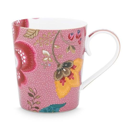 Pip Studio Alphabet Mug Floral Fantasy Pink A 350ml