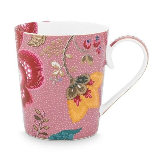 Pip Studio Alphabet Mug Floral Fantasy Pink M 350ml