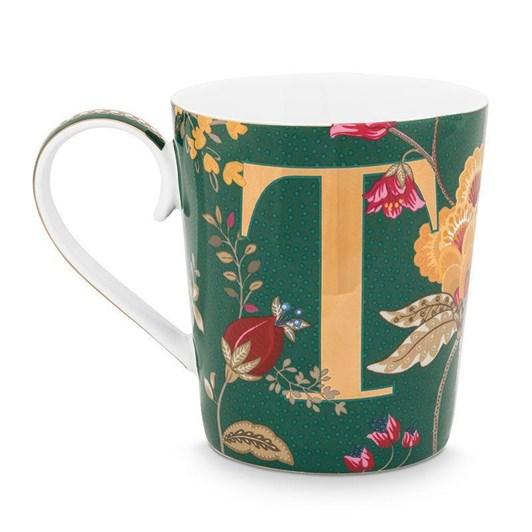 Pip Studio Alphabet Mug Floral Fantasy Green T 350ml