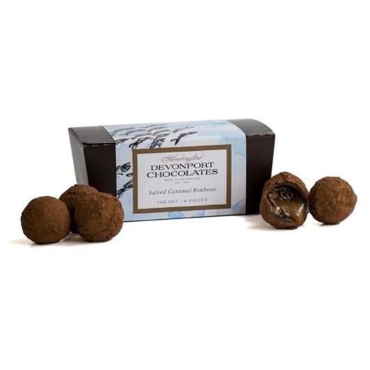 Devonport Chocolates Dark Chocolate Caramel Bonbons 75g