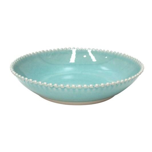 Pearl Pasta Bowl Aqua 23cm