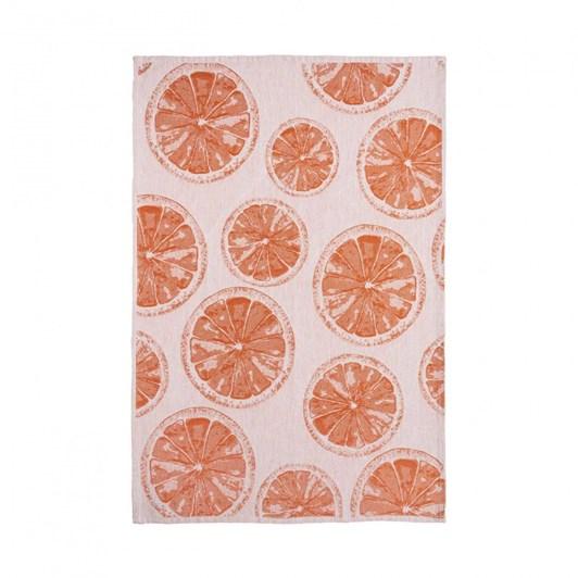 Casafina Kitchen Towel Oranges Set Of 2