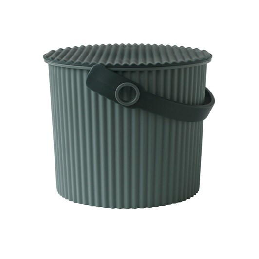 Hachiman Small Storage Bucket With Lid Green 4L