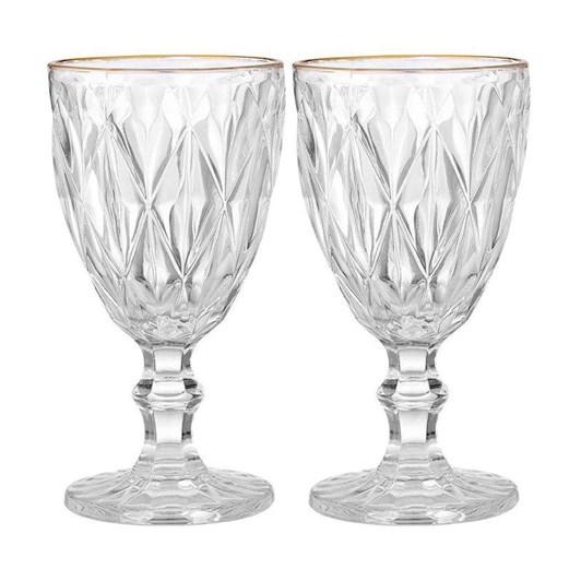 Ezra Clear Wine Glass Set Of 2
