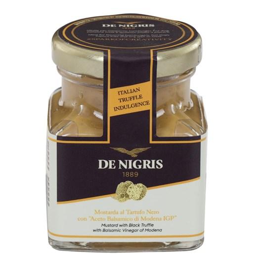 De Negris Mustard With Black Truffle With Balsamic Vinegar 100g