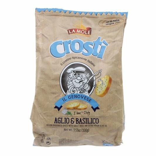 La Mole Crosti Garlic And Basil 100g
