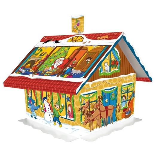 Windel Christmas House Shaped Advent Calendar 75g