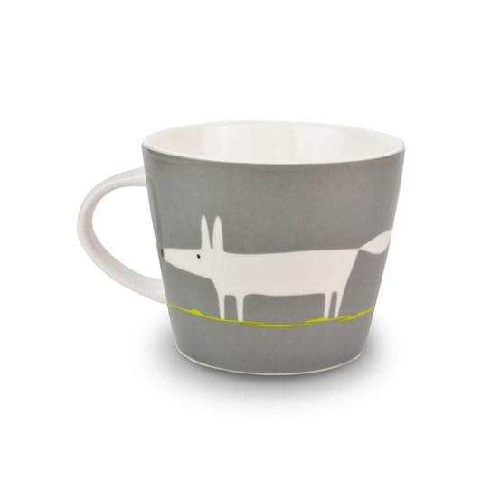 Mr Fox Charcoal Mug