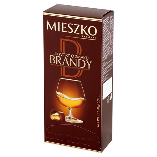 Mieszko Liqueur Chocolates With Brandy Flavour 180g