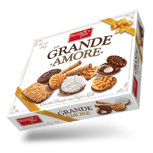 Sweet Plus Grande Amore Biscuit Gift Box 240g