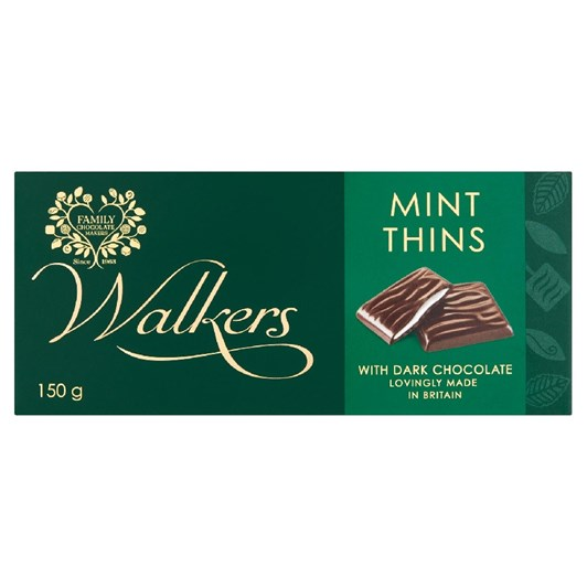 Walkers Mint Thins 135g