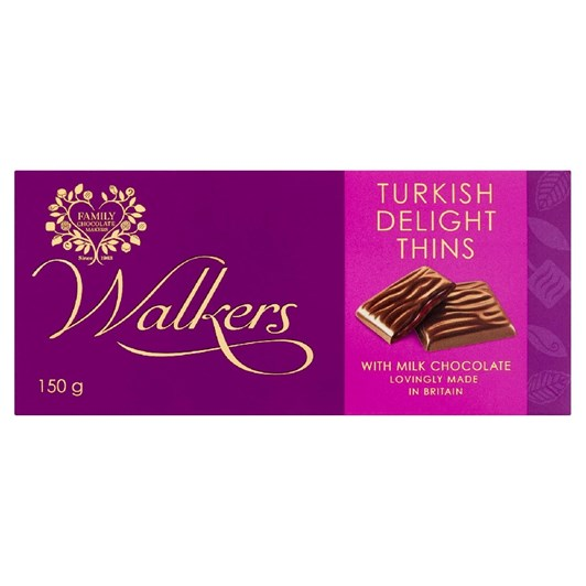 Walkers Turkish Delight Thins 135g