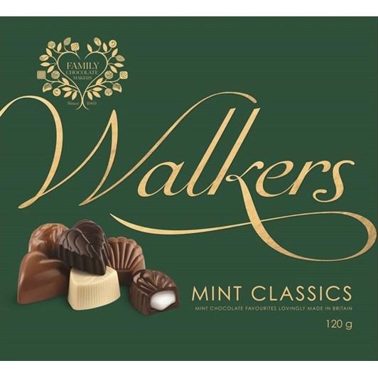 Walkers Chocolate Mint Classics 120g