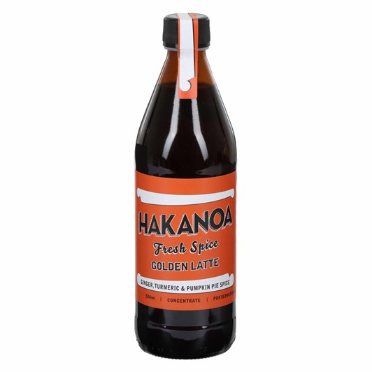 Hakanoa Golden Latte Syrup 500ml