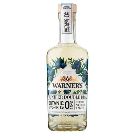 Warner's Juniper Double Dry 0% Alcohol Spirit 500ml