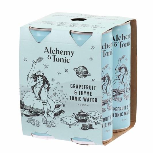 Alchemy & Tonic Grapefruit & Thyme Tonic Water 4 x 250ml