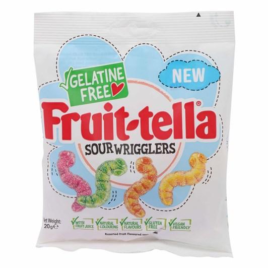 Fruit-tella Sour Wriggles 120g