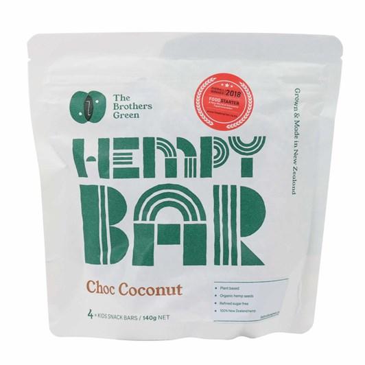 Hempy Bar Pouch Choc Coconut 4x35g Bars