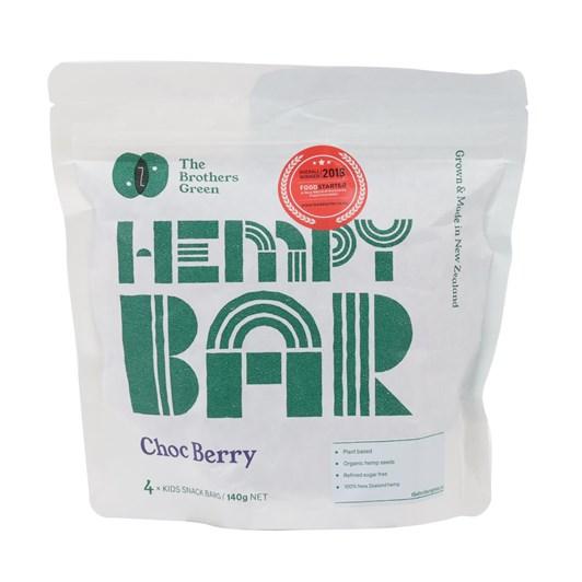 Hempy Bar Pouch Choc Berry 4x35g Bars