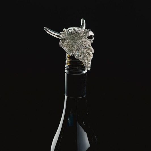 Just Slate Highland Cow Wine Bottle Pourer