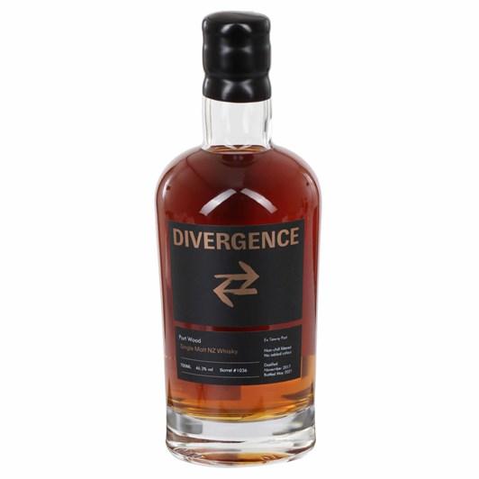 Divergence Single Malt NZ Whisky Port Wood 46.3% 700ml
