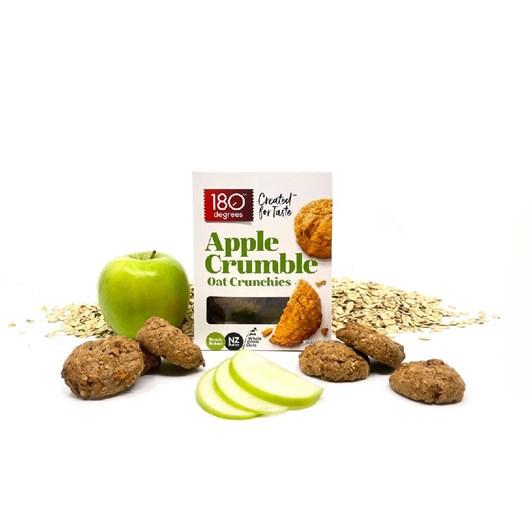 180 Degrees Apple Crumble Oat Crunchies - 150g