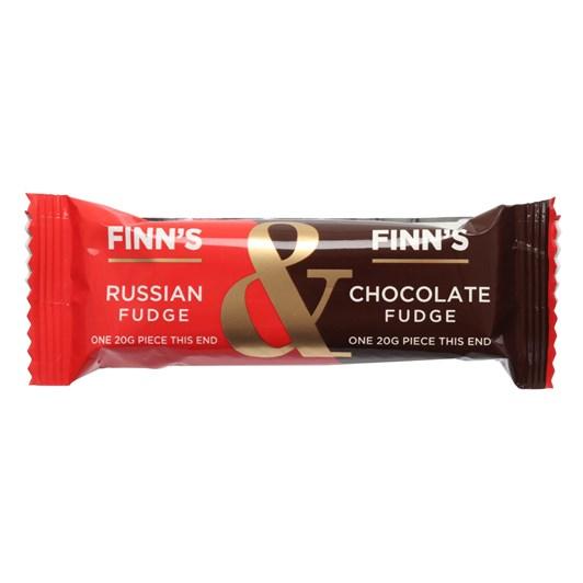 Finns Fudge Russian & Chocolate Fudge Bar - 40g