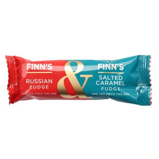 Finns Fudge Russian & Salted Caramel Fudge Bar - 40g